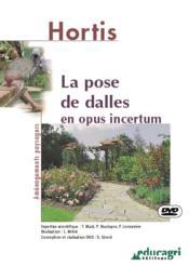 La pose de dalles en opus incertum ; dvd - Couverture - Format classique