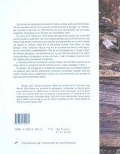 La Geologie De La Loire - 4ème de couverture - Format classique