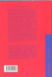 Voyager Avec Jean Chesneaux - Carnets De Chine - 4ème de couverture - Format classique