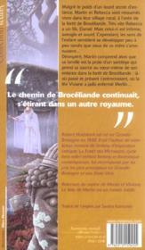 Le Bois De Merlin - 4ème de couverture - Format classique