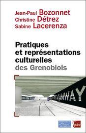 Pratiques et représentations culturelles des grenoblois - Couverture - Format classique