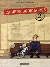 Casiers judiciaires t.2 - Couverture - Format classique
