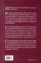 Ma Vie N'Est Pas Entre Ces Quatre Murs - 4ème de couverture - Format classique