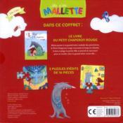 Le petit chaperon rouge (coll ma ptite mallette ) - 4ème de couverture - Format classique