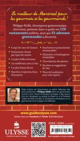Le Montréal gourmand de Philippe Mollé - Couverture - Format classique