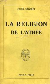 La Religion De L'Athee - Couverture - Format classique