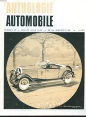 L'Anthologie De L'Automobile N°18 - Couverture - Format classique