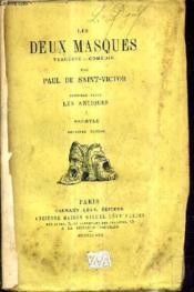 Les Deux Masques Tragedie Comedie - Premiere Serie Les Antiques I : Les Eschyle / 2e Edition. - Couverture - Format classique