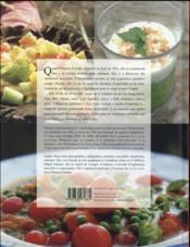 Un goût de paradis ; 60 recettes végétariennes bienfaisantes pour le corps et l'esprit - 4ème de couverture - Format classique
