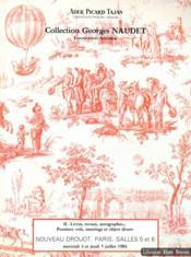 Collection Georges Naudet. Locomotion aérienne - Couverture - Format classique