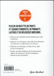 Précis de fermentation - 4ème de couverture - Format classique