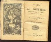 FABLES DE LA FONTAINE - PRECEDEES DE LA VIE D'ESOPE accompagnées de notes nouvelles / NOUVELLE EDITION - Couverture - Format classique