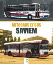 Autocars & bus Saviem - Couverture - Format classique
