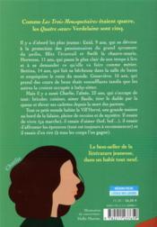 Quatre soeurs ; compilation - 4ème de couverture - Format classique