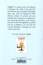 Dagfrid, à Thor et à travers - 4ème de couverture - Format classique