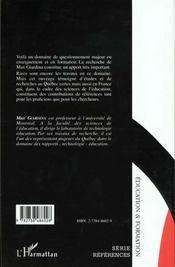 L'Interactivite Le Multimedia Et L'Apprentissage - 4ème de couverture - Format classique
