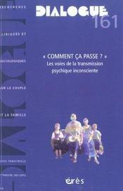 Dialogue N.161 - Intérieur - Format classique