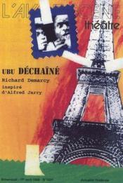 Revue L'Avant-Scene Theatre N.1027 ; Ubu Déchaîné - Couverture - Format classique