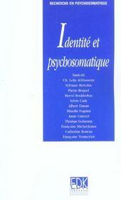 Identité et psychosomatique - Intérieur - Format classique