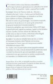 Le Paquebot Des Sables - 4ème de couverture - Format classique
