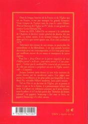 Le Cardinal Pie De A A Z - 4ème de couverture - Format classique