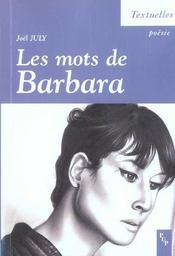 Les mots de Barbara - Intérieur - Format classique
