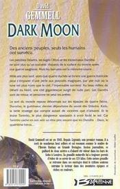 Dark moon - 4ème de couverture - Format classique