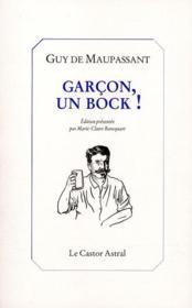 Garçon, un bock ! - Couverture - Format classique