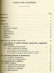 Recherches structurales dans les pyrénées occidentales françaises - Intérieur - Format classique