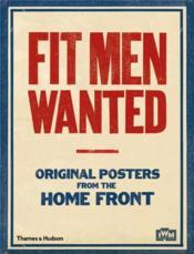 Fit men wanted - Couverture - Format classique