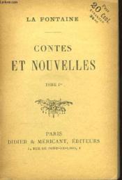 Contes et Nouvelles. TOME Ier - Couverture - Format classique