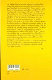 Vie de Joseph Roulin - 4ème de couverture - Format classique