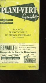 Le Plani-Vert Guide - Indicateurs De Banlieue - Sannois Franconville - Le Plessis-Bouchard - Couverture - Format classique