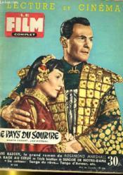 Lecture Et Cinema - Film Complet N° 518 - La Pays Du Sourire - Couverture - Format classique
