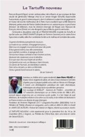 Le tartuffe nouveau ; deuxième volet de la trilogie Molière, d'après le Tartufe, de Molière - 4ème de couverture - Format classique