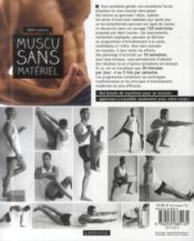 Muscu sans matériel - 4ème de couverture - Format classique