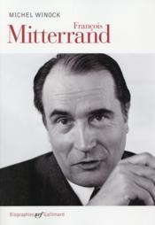 François Mitterrand - Couverture - Format classique
