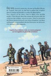 Dans les yeux d'Anouch ; Armenie 1915 - 4ème de couverture - Format classique
