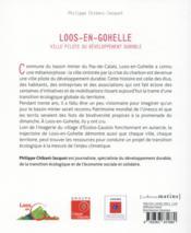 Loos-en-Gohelle, ville pilote du développement durable - 4ème de couverture - Format classique