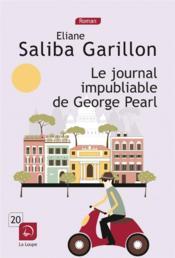 Le journal impubliable de George Pearl - Couverture - Format classique