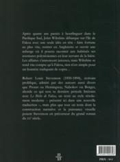 Le Bêche de Falesa - 4ème de couverture - Format classique