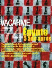 Revue Vacarme N.74 - Couverture - Format classique
