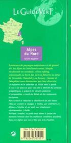 Le Guide Vert T.301 - 4ème de couverture - Format classique
