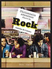 Dictionnaire amoureux illustré du rock - Couverture - Format classique