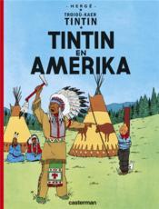 Troioù-kaer Tintin T.1 ; Tintin en Amerika - Couverture - Format classique