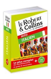 LE ROBERT & COLLINS ; MINI ; dictionnaire italien - Couverture - Format classique