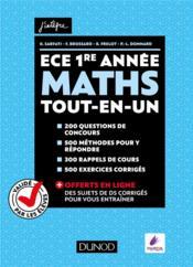 Mathématiques ECE - Couverture - Format classique