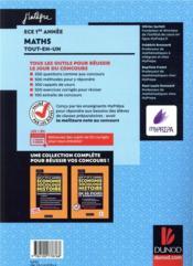 Mathématiques ECE - 4ème de couverture - Format classique