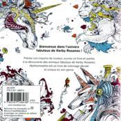 Le petit livre de coloriage ; mythomorphia - 4ème de couverture - Format classique