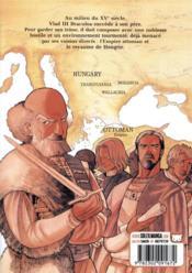 Vlad Draculea T.1 - 4ème de couverture - Format classique